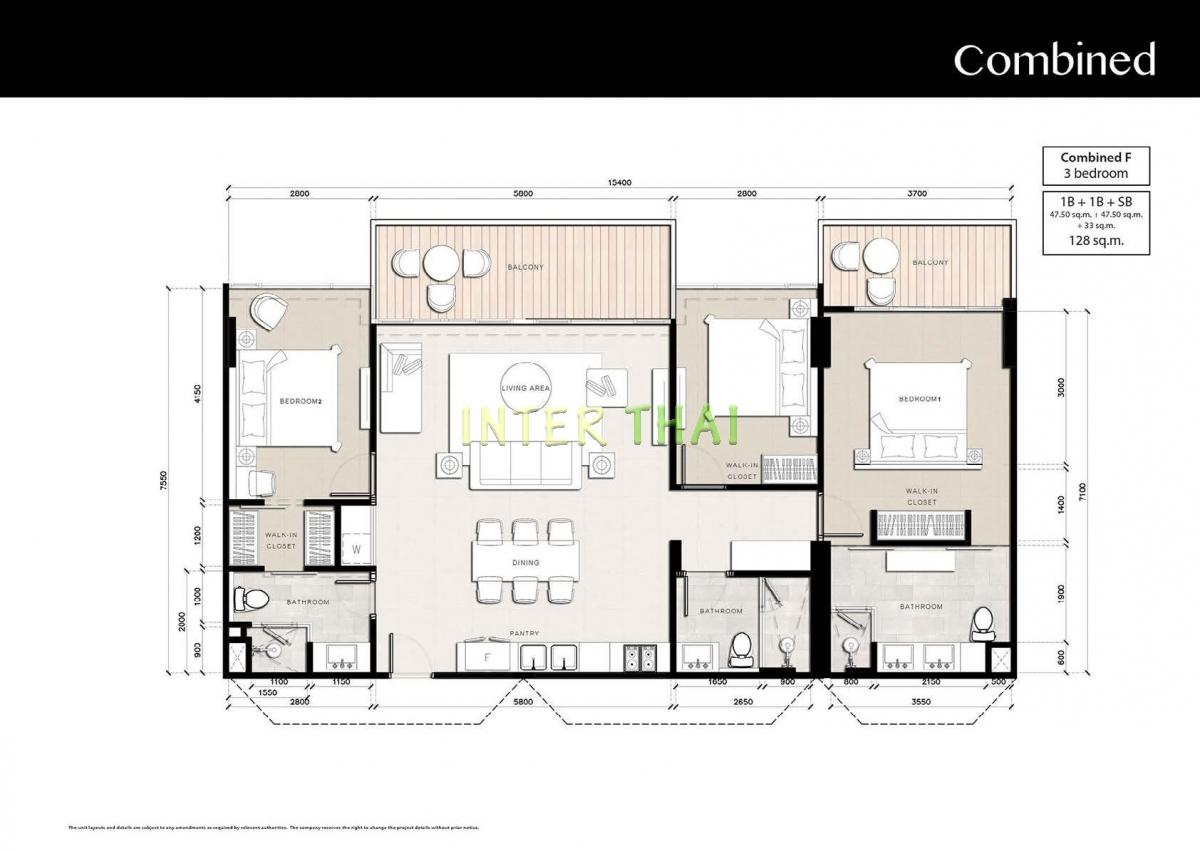 Riviera Jomtien - floor plans - 17