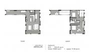 Aeras Condo - unit plans (duplex, penthouse, 3-bedroom) - 1