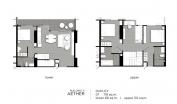Aeras Condo - unit plans (duplex, penthouse, 3-bedroom) - 2
