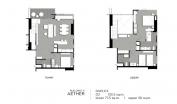 Aeras Condo - unit plans (duplex, penthouse, 3-bedroom) - 3