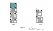 Aeras Condo - unit plans (duplex, penthouse, 3-bedroom) - 4