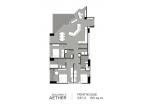 Aeras Condo - unit plans (duplex, penthouse, 3-bedroom) - 6