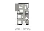 Aeras Condo - unit plans (2-bedroom) - 10