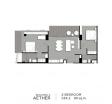 Aeras Condo - unit plans (2-bedroom) - 2