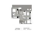 Aeras Condo - unit plans (2-bedroom) - 5