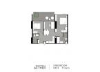 Aeras Condo - unit plans (2-bedroom) - 7