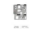 Aeras Condo - unit plans (2-bedroom) - 8