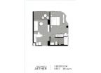 Aeras Condo - unit plans (1-bedroom, studio) - 2