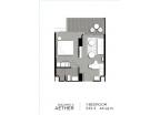 Aeras Condo - unit plans (1-bedroom, studio) - 3