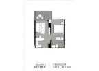 Aeras Condo - unit plans (1-bedroom, studio) - 4