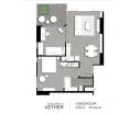 Aeras Condo - unit plans (1-bedroom, studio) - 5