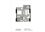 Aeras Condo - unit plans (1-bedroom, studio) - 6