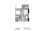 Aeras Condo - unit plans (1-bedroom, studio) - 8