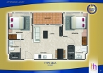Arcadia Beach Continental - 房间平面图 - 6