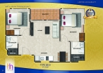 Arcadia Beach Continental - 房间平面图 - 7