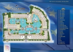 Arcadia Beach Continental - 楼层平面图 - 1