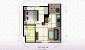 Arcadia Beach Resort - unit plans - 1