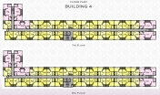 Arcadia Beach Resort - floor plans - building 4 - 5