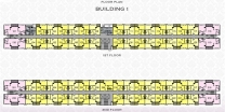 Arcadia Beach Resort - floor plans - building 1 - 2