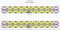 Arcadia Beach Resort - floor plans - building 1 - 4