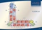 Arcadia Millennium Tower - floor plans - 2