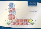 Arcadia Millennium Tower - floor plans - 3