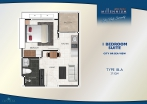 Arcadia Millennium Tower - unit plans - 1