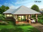 Baan Dusit Pattaya - 1-storey house 128 sqm, land plot 440-750 sqm, 2 bedroom, 2 bathroom - 1