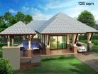 Baan Dusit Pattaya - 1-storey house 128 sqm, land plot 440-750 sqm, 2 bedroom, 2 bathroom - 2