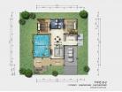 Baan Dusit Pattaya - 1-storey house 128 sqm, land plot 440-750 sqm, 2 bedroom, 2 bathroom - 6