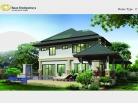 Baan Dusit Pattaya - 2-storey house 283 sqm, land plot 440-750 sqm, 4 bedroom, 4 bathroom, pool 50 sqm - 4
