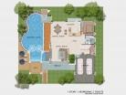 Baan Dusit Pattaya - 2-storey house 283 sqm, land plot 440-750 sqm, 4 bedroom, 4 bathroom, pool 50 sqm - 7