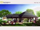 Baan Dusit Pattaya - 1-storey house 233 sqm, land plot 440-750 sqm, 3 bedroom, 2 bathroom, pool 50 sqm - 3
