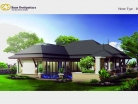 Baan Dusit Pattaya - 1-storey house 191 sqm, land plot 440-750 sqm, 3 bedroom, 2 bathroom, pool 35 sqm - 4