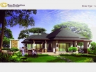 Baan Dusit Pattaya - 1-storey house 173 sqm, land plot 440-750 sqm, 2 bedroom, 2 bathroom, pool 35 sqm - 1