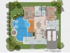 Baan Dusit Pattaya - 1-storey house 173 sqm, land plot 440-750 sqm, 2 bedroom, 2 bathroom, pool 35 sqm - 4