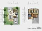 Baan Dusit Pattaya - 2-storey house 166 sqm, land plot 440-750 sqm, 4 bedroom, 2 bathroom - 2