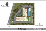 City Garden Tower - floor plans - 4