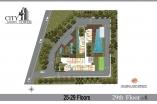 City Garden Tower - floor plans - 6