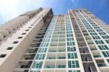 City Garden Tower - 2017-10 construction site - 1