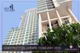 City Garden Tower - 2018-02 construction site - 1