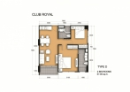 Club Royal - 房间平面图 - 12