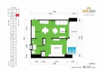 Copacabana Beach Jomtien - unit plans - 10