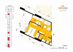 Copacabana Beach Jomtien - unit plans - 2