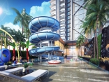 Diamond Tower Pattaya - price from 2,010,000 THB;  Condo Pratamnak Hill for sale, resale price, hot deals, location map in Thailand