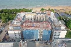 Grand Florida Beachfront - 2019-07 construction site - 1
