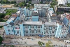 Grand Florida Beachfront - 2019-07 construction site - 7