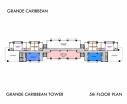 Grande Caribbean Condo - 楼层平面图 bld Cruze - 4
