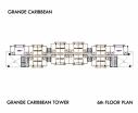 Grande Caribbean Condo - 楼层平面图 bld Cruze - 5