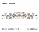 Grande Caribbean Condo - 楼层平面图 bld Cruze - 6